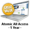 Atomic All Access - 1 Year