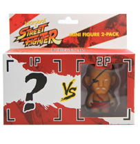 Kidrobot® x Street Fighter® Mini Figure 2-pack ? vs Sagat
