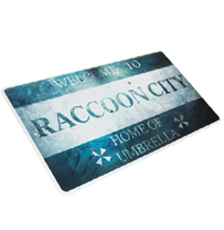 Resident Evil™  Welcome To Raccoon City sign