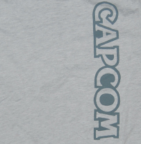 Capcom® Logo Heather Gray Tee