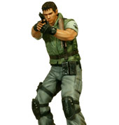 RESIDENT EVIL® 1/6 Scale Chris Redfield Statue