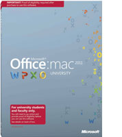 Office til Mac University 2011