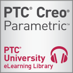 PTC University Creo Parametric eLearning Library with Support- Perpetual Access