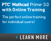 PTC Mathcad Prime 2.0 with PTC University Mathcad eLearning Library - $1,680.00 - Order Now!