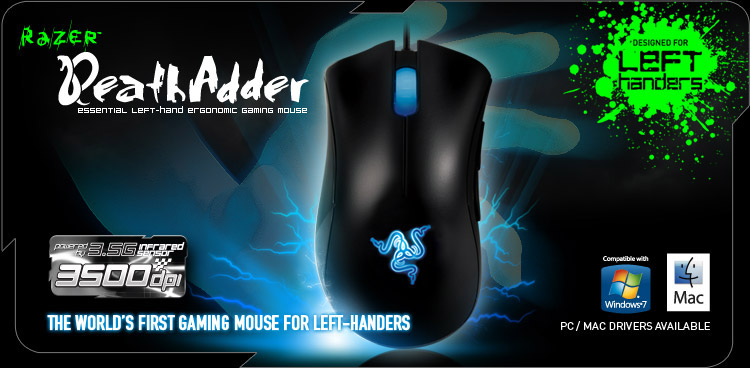 Razer DeathAdder Left-Hand Edition