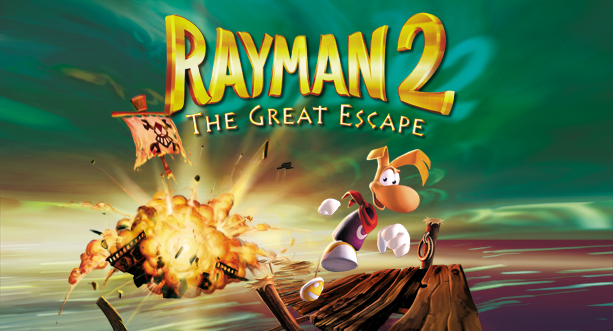 Rayman 2 The Great Escape (Version anglaise uniquement)
