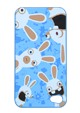 Die Rabbids-IPhone-4/4S-Hüllen - Blau