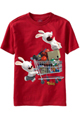 Raving Rabbids Kids Red T-Shirt