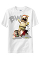 Raving Rabbids Kids White T-Shirt