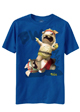 Raving Rabbids Kids Blue T-Shirt