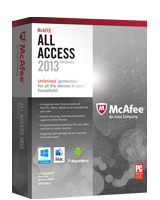 McAfee All Access 2013 - All-in-One Protection