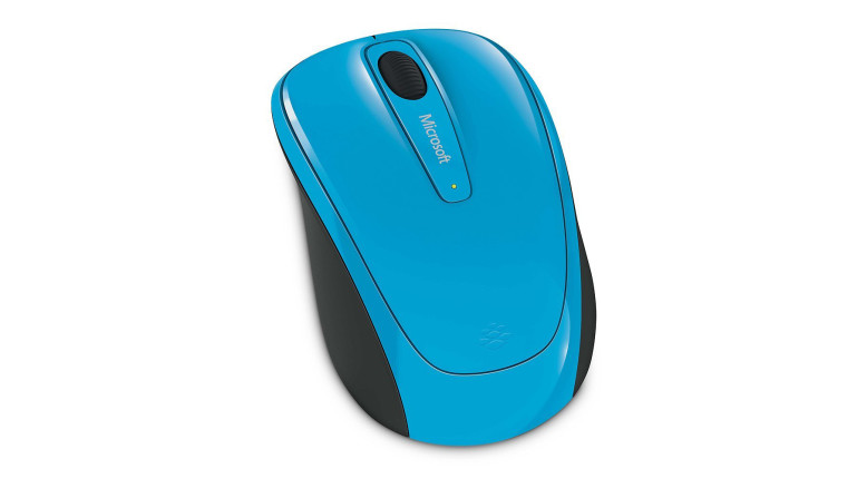 Wireless Mobile Mouse 3500 (Cyan Blue)