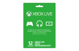 12-monatige Xbox Live Gold Mitgliedschaft