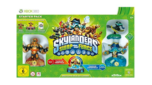 Skylanders SWAP Force Starterpaket für Xbox 360