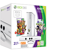 Xbox 360 4 GB Kinect Holiday Value Bundle