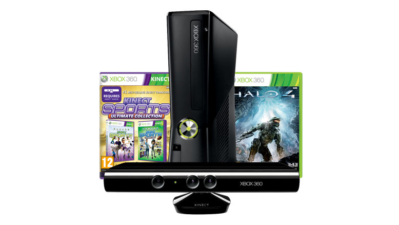 Xbox 360 250GB Halo 4 Kinect Bundle