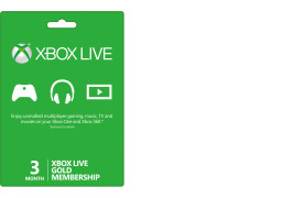 Xbox LIVE 3-Month Gold Membership