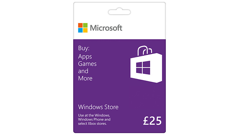 £25 Windows Store Gift Card