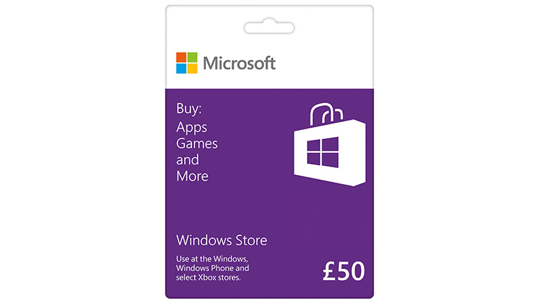 £50 Windows Store Gift Card