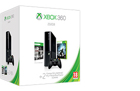 Xbox 360 250 GB Value Holiday Bundle