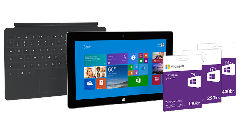 Surface 2 startpakke