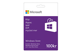100 kr Windows Store-presentkort
