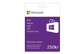 250 kr Windows Store-presentkort