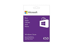 €50 Windows Store Gift Card