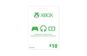 Carte Xbox LIVE : 10 €