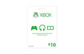 Xbox LIVE Guthabenkarte: 10 €