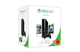 Pacote de Férias Xbox 360 de 250 GB
