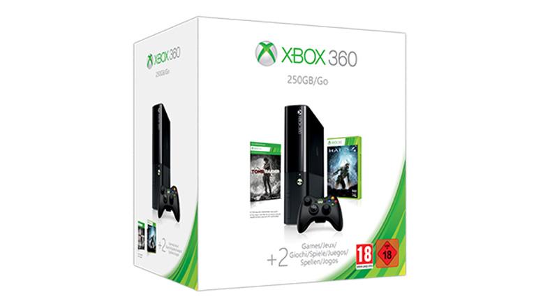 Offre groupée du temps des fêtes Xbox360 250Go avec Value