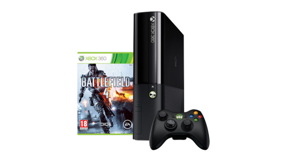 Pack Xbox 360 250Go + Battlefield 4