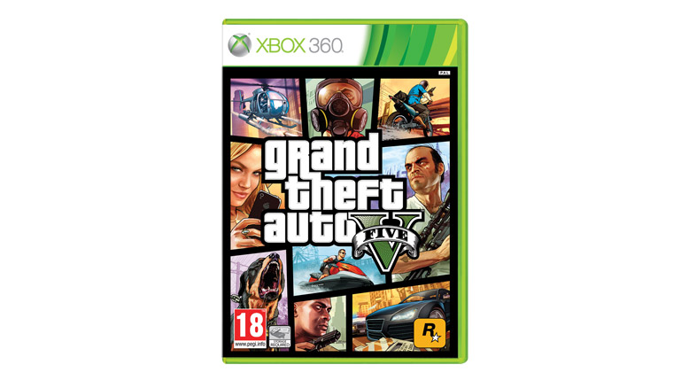 GTA V pour Xbox 360
