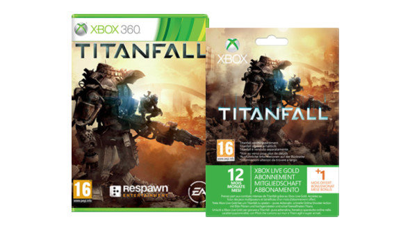 Pack exclusif Titanfall Live pour Xbox 360