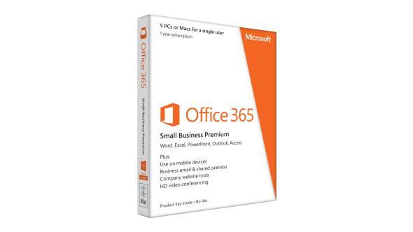 Office 365 Small Business Premium (renovação)