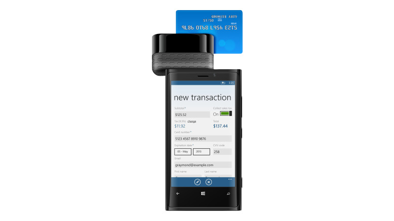 Inner Fence Credit Card Terminal for Windows 8 Phones