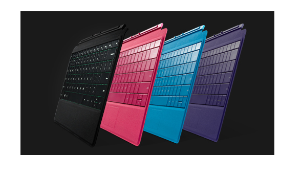Cover con tasti per Surface 2