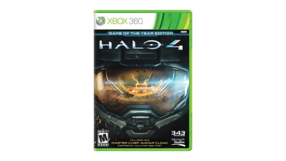 Halo 4: Game of the Year Edition for Xbox 360 box shot