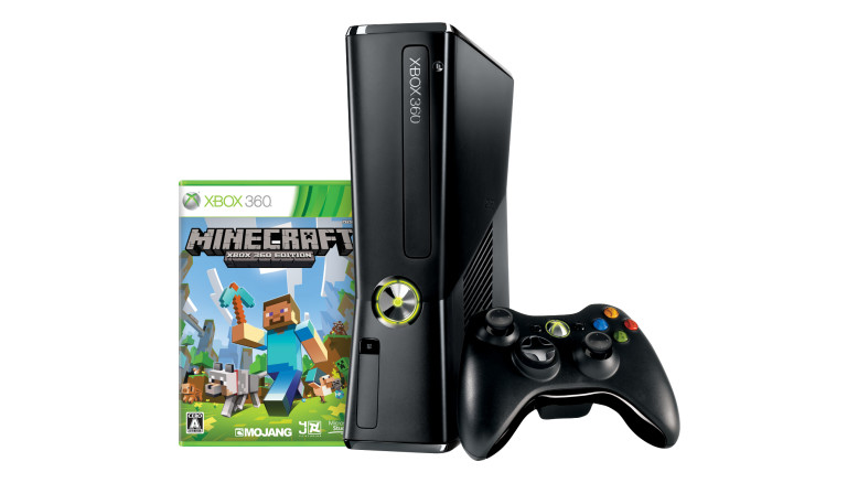 Xbox 360 250GB + Minecraft: Xbox 360 Edition