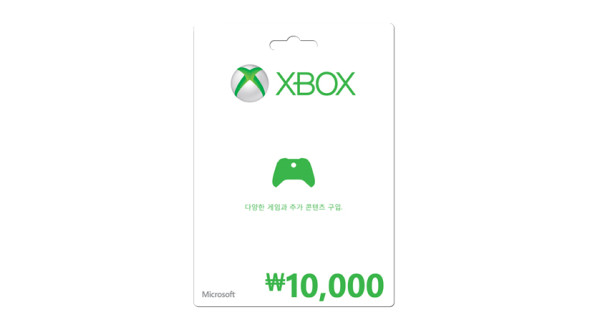 ₩10,000 Xbox 상품권