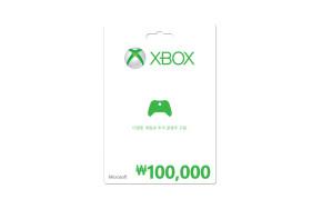 ₩100,000 Xbox 상품권