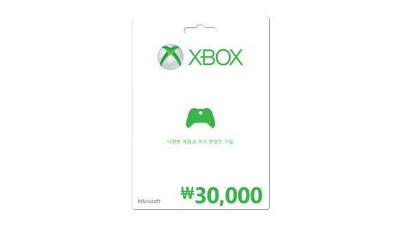 ₩30,000 Xbox 상품권