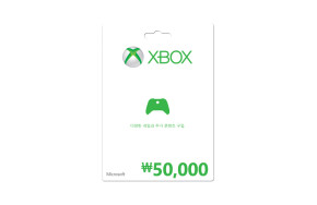 ₩50,000 Xbox 상품권
